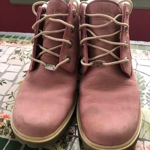 Timberland Shoes - 💓Pink Timberland Boots💓